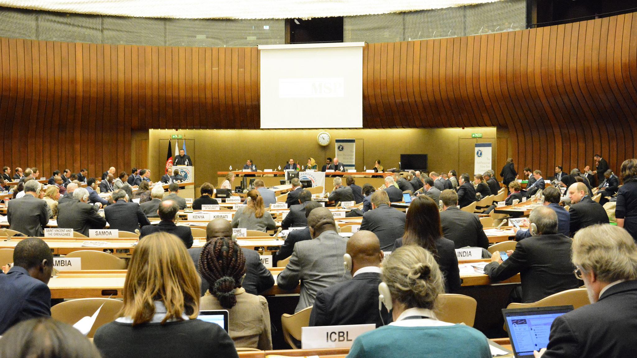 Mayın Yasağı Anlaşması 17. Taraf Devletler Toplantısı
